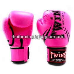 """Twins Special Fancy FBGVS3 Boxing Gloves """"Beginner Edition"""" Pink"""