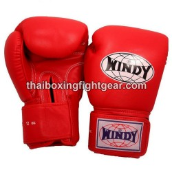 Windy Thaiboxing Gloves Red