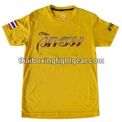 Wik-Rom Muay Thai Yellow...
