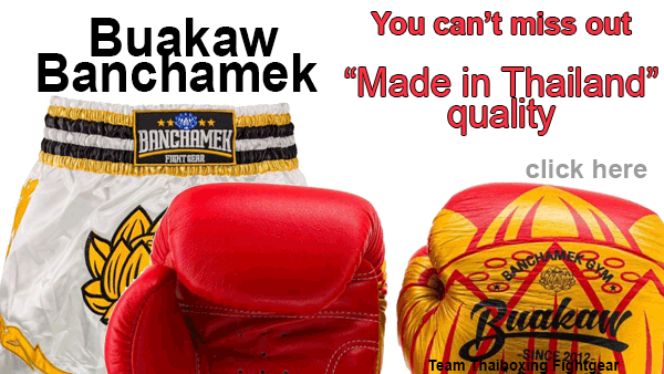 discover buakaw, great thai brand