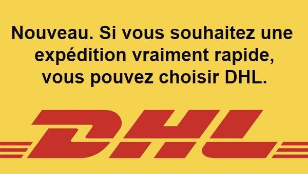 DHL maintenant dispo sur Thaiboxing Fightgear